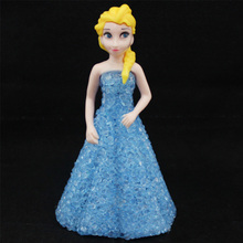 Ice Snow Queen 7 LED Color Changing Night Light Lamp Girls