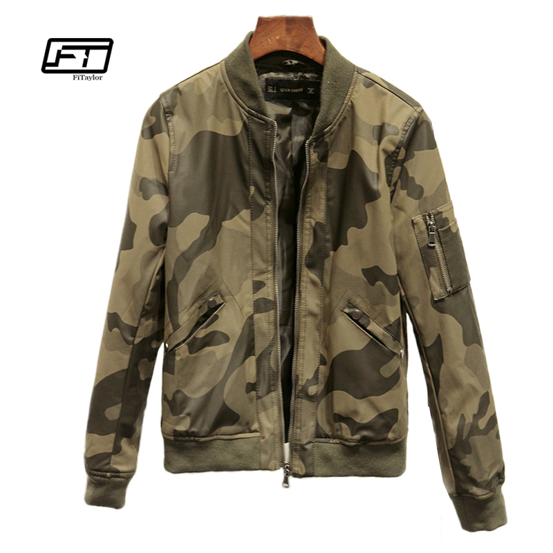 New Autumn Winter Women Camouflage Pu   Leather   Jacket Long Sleeve Soft Faxu   Leather   Coat Biker Lether Military Coat Moto Outwear