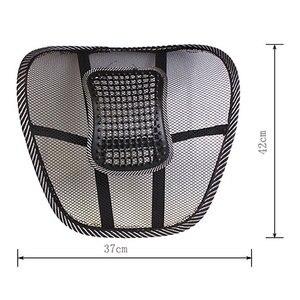 Image 3 - Cojín lumbar para asiento de coche, apoyo para silla de oficina, cojín para asiento de coche, tirantes para espalda, reposacabezas