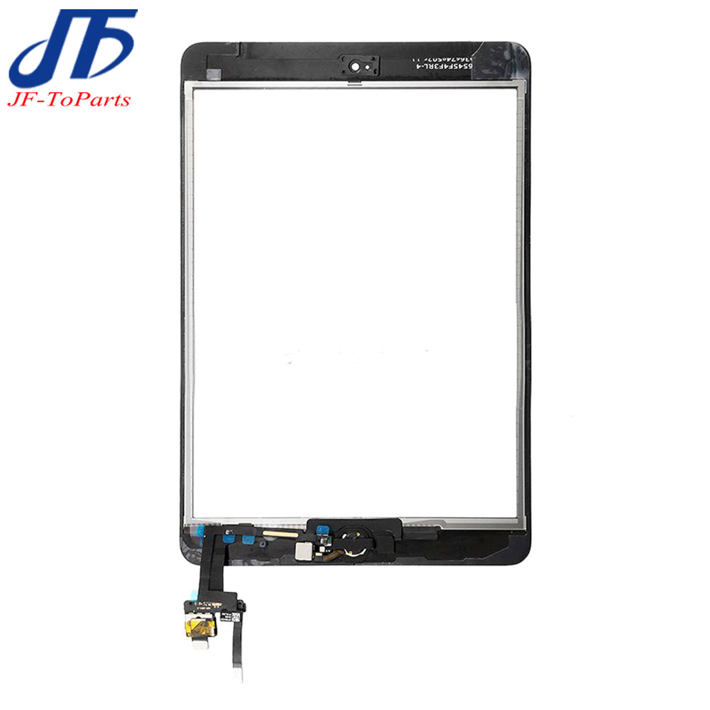 10Pcs replacement For iPad mini 3 ipad3 Touch Screen Digitizer panel Assembly with Home Button Flex