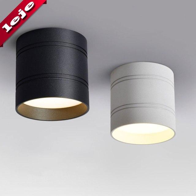 Pode ser escurecido LED luz de Teto para baixo a luz 18 W 15 W 9 W 5 W Nenhuma abertura lâmpadas de Teto para cozinha, varanda, biblioteca, casa de banho, loja, Escritório