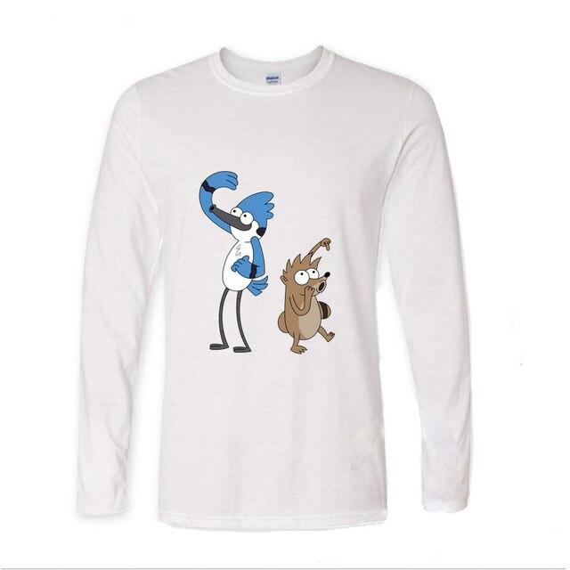 Regular Espectáculo Mordecai amp; The rigby\'s Oficial Camiseta para ...