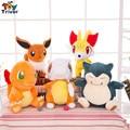 30cm Plush Pokemon Doll Toy Charmander Snorlax Fennekin Cubone Flareon Stuffed Plush Animals birthday christmas gift Triver Toy