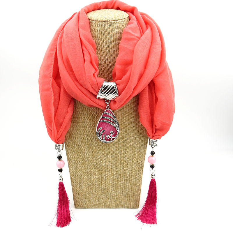 HTB1c8H4LQvoK1RjSZPfq6xPKFXaR - RUNMEIFA Multi-style Jewelry Statement Necklace Pendant Scarf Women Bohemia Neckerchief Foulard Femme Accessories Hijab Stores
