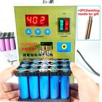 SUKKO 787A+Spot Welder Lithium battery Welder Notebook Phone Precision Welding Pedal 18650 battery Micro welding pulse LED light