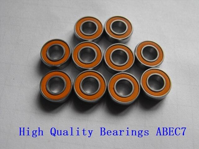 Free shipping 10pcs 6x12x4   4pcs 5x11x4   8pcs 10x15x4 Stainless steel hybrid ceramic ball bearingShafts   -