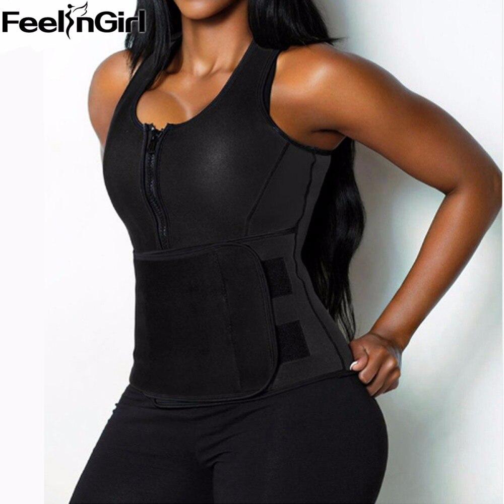 1f24227fd9 Aliexpress.com   Buy Ladies Shape Wear Body Shaper Waist Trainer Vest  Workout Womens Bodysuits Adjustable Slimming Belt for Women Trimmer C5 from  ...