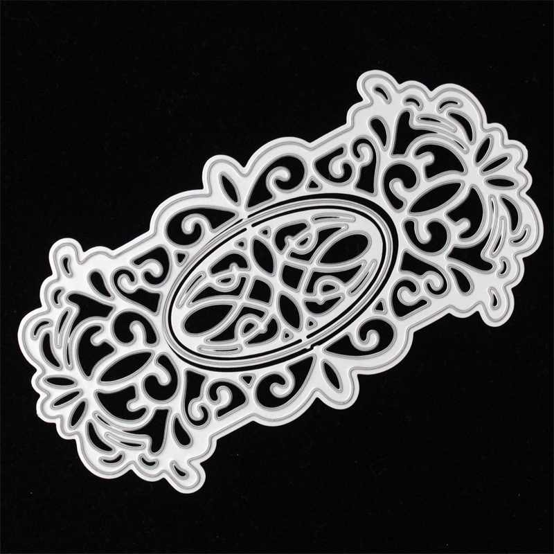 KSCRAFT Frame Metal Cutting Dies Stencils for DIY Scrapbooking/photo album Decorative Embossing DIY Paper Cards