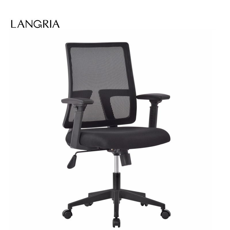Fantastic Us 84 99 15 Off Langria Modern Mid Back Swivel Mesh Task Office Chair Gaming Chair With 3 Way Adjustable Armrests And Knee Tilt Us Fba Domestic In Home Interior And Landscaping Transignezvosmurscom