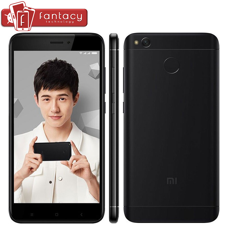 "bilder für Original Xiaomi Redmi 4X3 GB 32 GB 4100 mAh Snapdragon 435 Octa Core Fingerabdruck ID FDD LTE 4G 5 ""720 P MIUI 8,2 Handy"