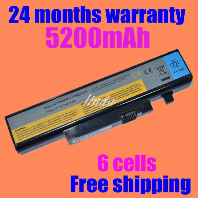 Jigu batería ordenador portátil del reemplazo para lenovo l09n6d16 l09s6d16 l10l6y01 l10l6y01 l10n6y01 l10s6y01 ideapad y460 y560 b560 v560
