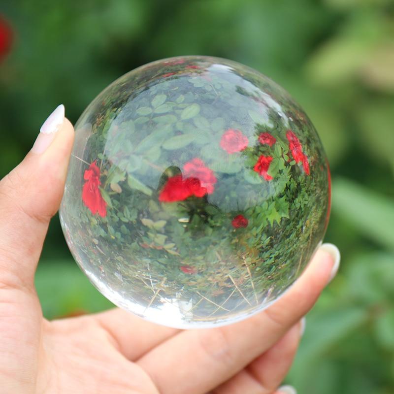Crystal Healing Glass Ball Sphere 18