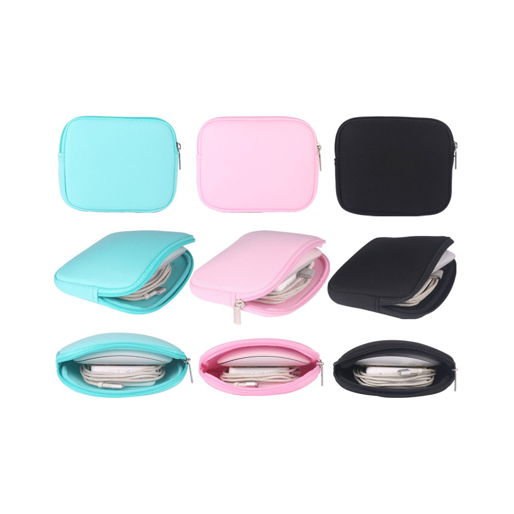 Charger Sleeve Mouse Power Adapter Case Soft Bag Storage For Mac MacBook Air ProCharger Sleeve Mouse Power Adapter Case Soft Bag Storage For Mac MacBook Air Pro