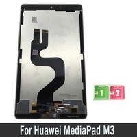 Tablet LCD Display For Huawei MediaPad M3 Lite 10 BAH AL00 BAH W09 Lcd Touch Screen Digitizer Sensors Assembly Panel Replacement