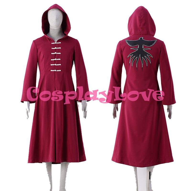 Kirishima Ayato Cosplay kostýmy Red Robes Plášť z Tokyo Ghoul Cosplay