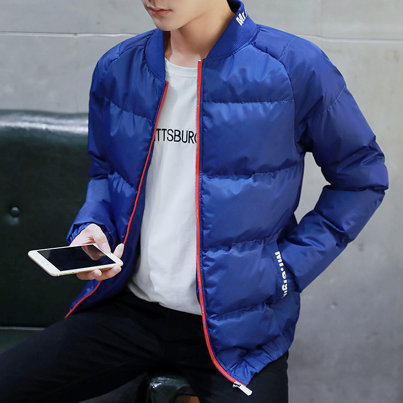 ФОТО 2017 Brand new men's jackets Youth Baseball Jacket coats leisure stand collar clothes large clothing free shipping