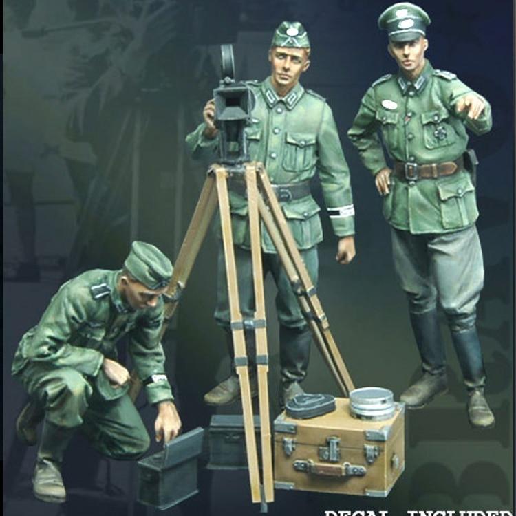 1/35 Propagandakompanie, Resin Model Soldier GK, WWII, Unassembled And Unpainted Kit