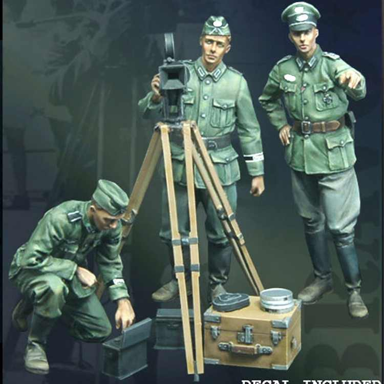 1/35 Propagandakompanie, Resin Model Soldier GK, WWII, Unassembled and unpainted kit