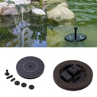 High Quality 7V Floating Water Pump Solar Panel Garden Plants Watering Power Fountain Pool New Arrival