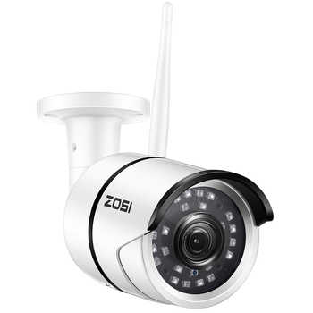 ZOSI WiFi Outdoor IP Camera 1080p HD Waterproof 2.0MP Wireless Security Camera Metal TF Card Record P2P Video Surveillance - DISCOUNT ITEM  38% OFF All Category