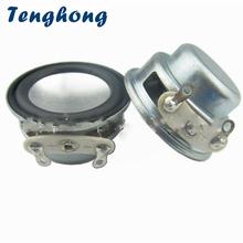 Tenghong 2 sztuk 1 Cal Mini głośnik Audio 27mm 4Ohm 3 W multimedialnych pełny zakres głośniki Bluetooth Audio głośnik dla audio w domu tanie tanio Drewna Brak 2 (2 0) Tenghong-C014 Inne Przenośne Liniowe Audio