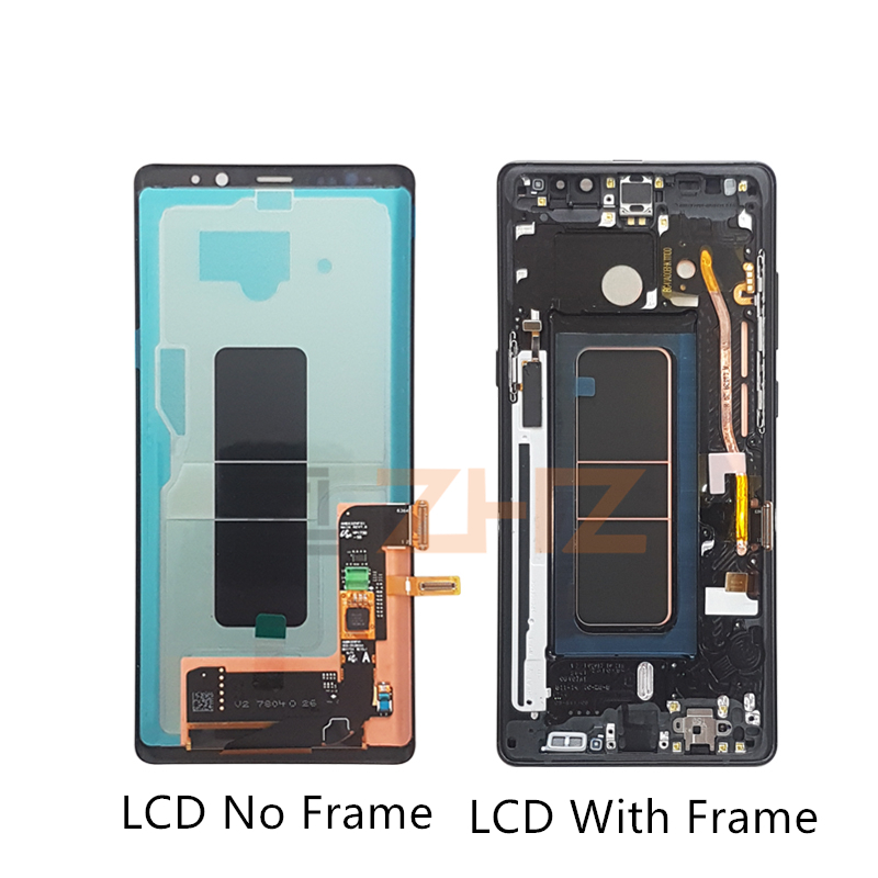 Image 2 - Super Amoled for Samsung Galaxy Note 8 lcd display touch screen Digitizer Assembly N950 N950F + Frame replacement repair parts-in Mobile Phone LCD Screens from Cellphones & Telecommunications
