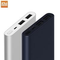 Xiaomi Original Mi Power Bank 2 18W 10000mAh Quick Charge Dual-USB Aluminium Powerbank Fast Charger Portable External Battery