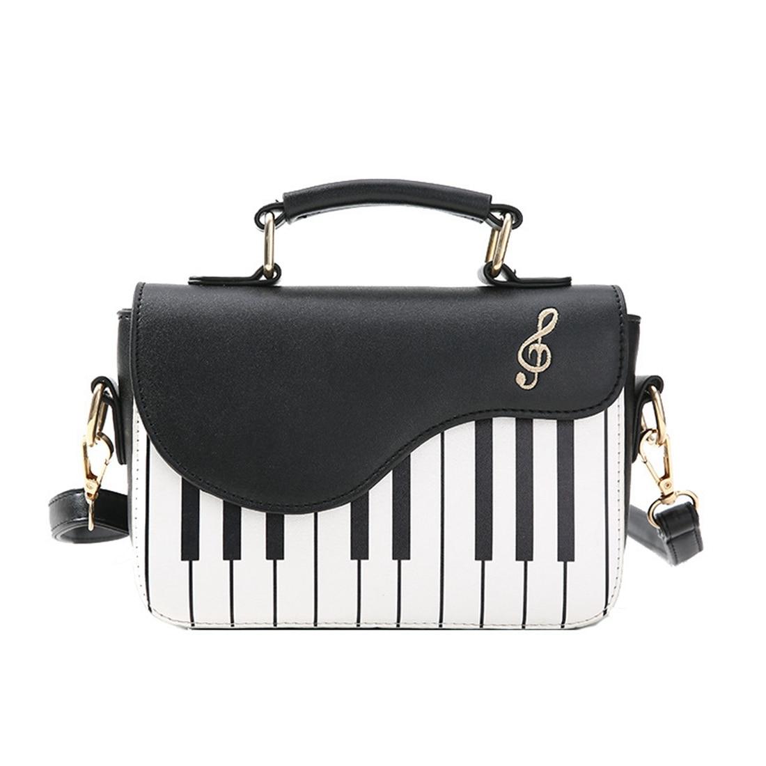 BEAU-neue mode hit farbe klavier druck handtasche süße wind frische schulter diagonal tragbare kleine paket