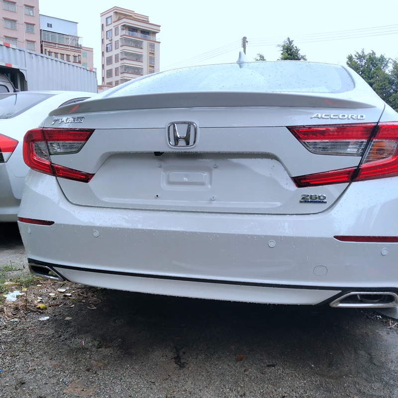 For Honda Accord 2018 Rear Trunk Spoiler High Quality Abs Plastic Painting Color 2019