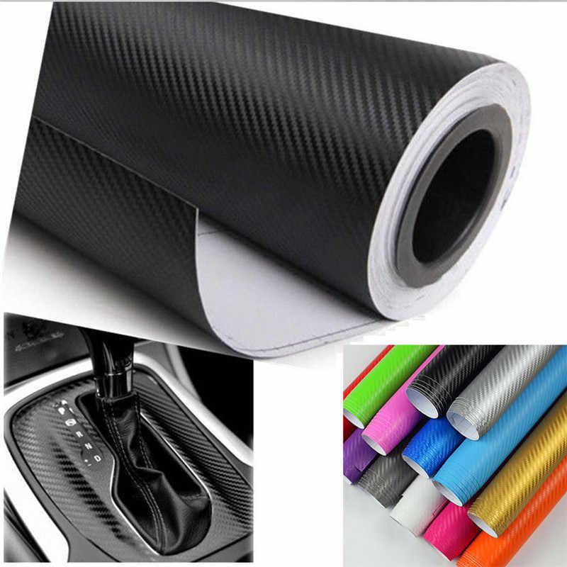 1pc 5 couleurs 3 tailles bricolage autocollant de voiture mat perle Point Auto extérieur en Fiber de carbone personnalisé automobile accessoires changer couleur Film