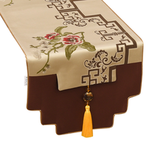 Classic New Chinese Style Table Runner Living Room Tea TV Cabinet Cover Towel Fashion Modern Cloth Home Decor LFB781