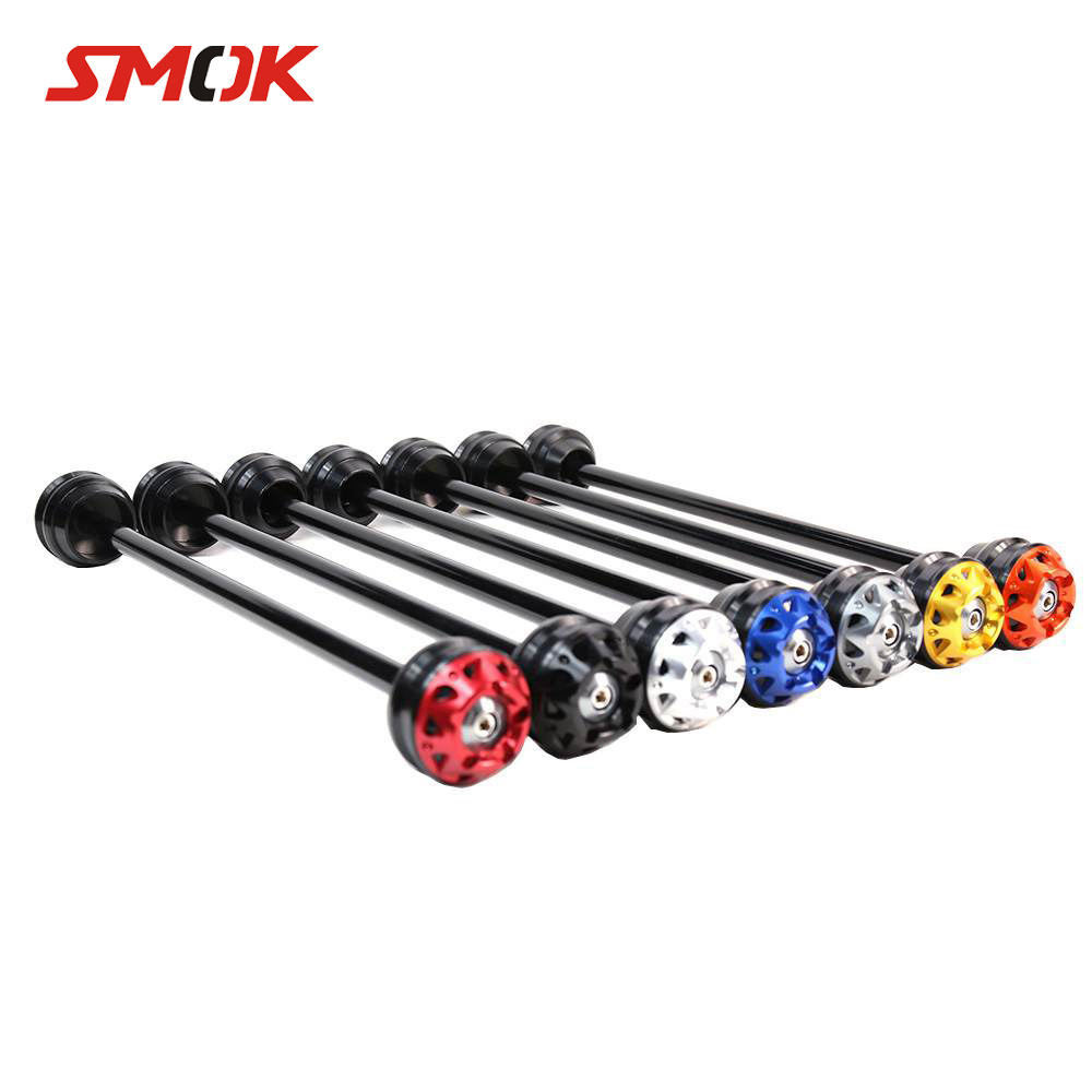SMOK Motorcycle CNC Aluminum Rear Axle Fork Wheel
