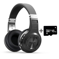 Bluedio H+ shooting Brake bluetooth headphones BT5.0 Stereo bluetooth headset with Micro sd card FM