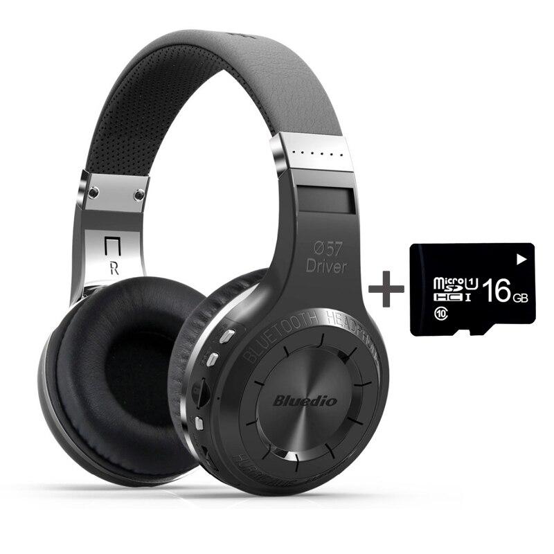 Bluedio H + shooting Brake bluetooth kopfhörer BT4.1 Stereo bluetooth headset mit Micro sd-karte FM