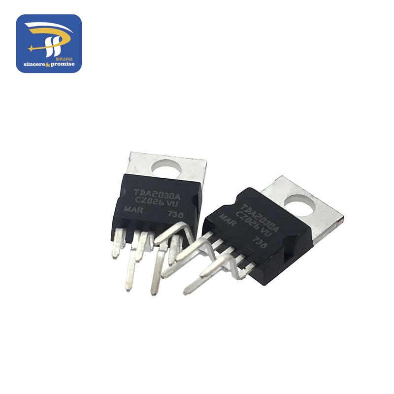 10pcs TDA2030 TDA2030A ליניארי אודיו מגבר קצר במעגל והגנת תרמית IC