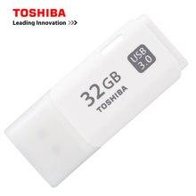 Original toshiba usb 3.0 flash drive 128g 64g 32 gb pendrive alta velocidade qualidade memória vara de plástico pen drive u disco flashdrive