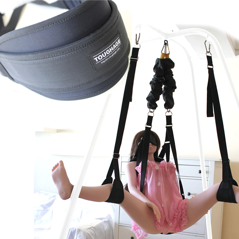 Bungee Cord Sex Swing Chairs Sex Furniture For Couples Adult Products Various Passionate Sexual Positions With Sturdy Bracket
