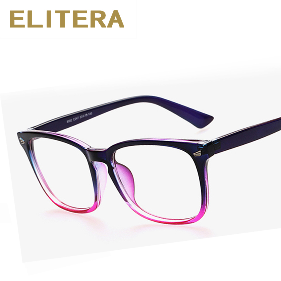 037eaa45990 ELITERA 2017 Hot Sale Fashion Brand Glasses Frames Eyeglasses For Women Men  Optical Myopia Frame Oculos