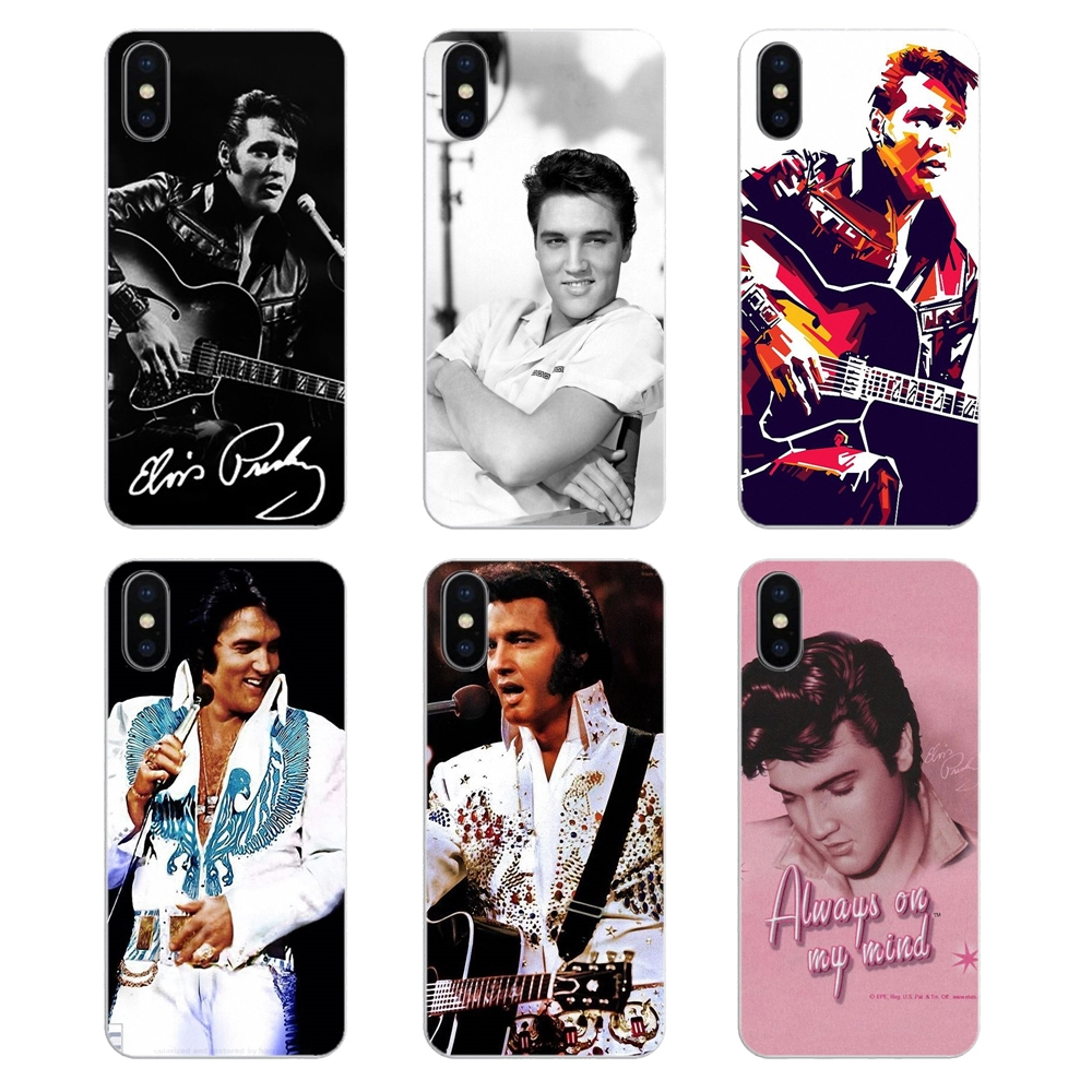 US $0 99  Soft Shell Covers The King Rock Roll Elvis Presley Country music  For iPod Touch iPhone 4 4S 5 5S 5C SE 6 6S 7 8 X XR XS Plus MAX-in Fitted
