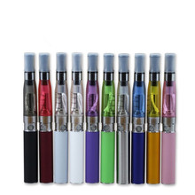 10 개/몫 CE4 Clearomizer 1100mah 자아 T 배터리 vape elektronik sigara와 전자 담배 자아 CE4 물집 단일 키트