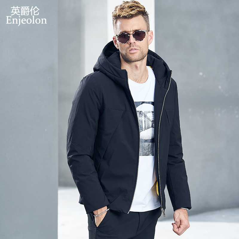 SIMWOOD Jacket Men 2019 autumn New Fashion Thin Coats Bomber Slim Fit Plus Size Casual Outerwear
