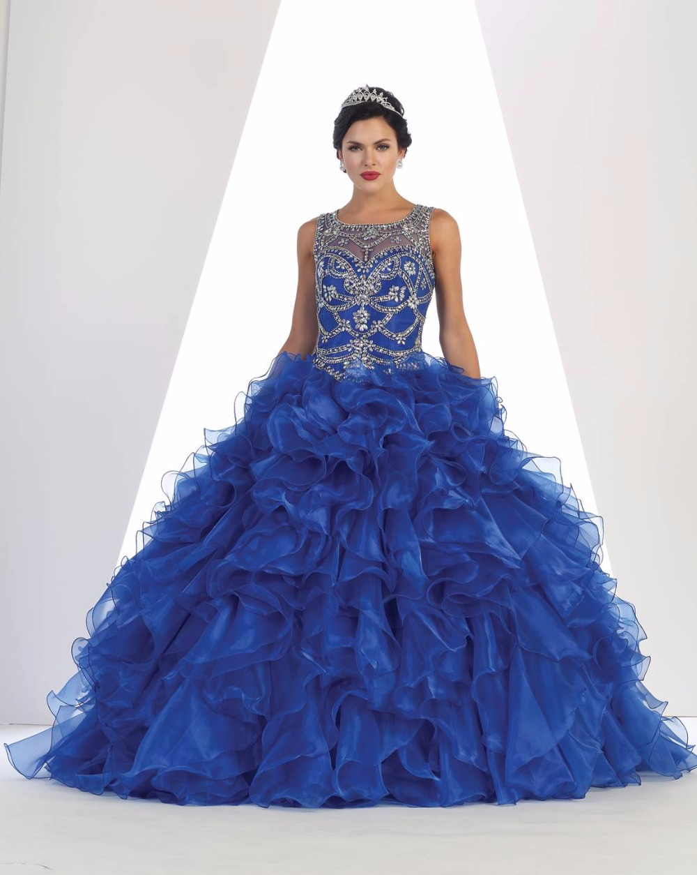 Popular Ruffled Ball Gowns-Buy Cheap Ruffled Ball Gowns lots from ...