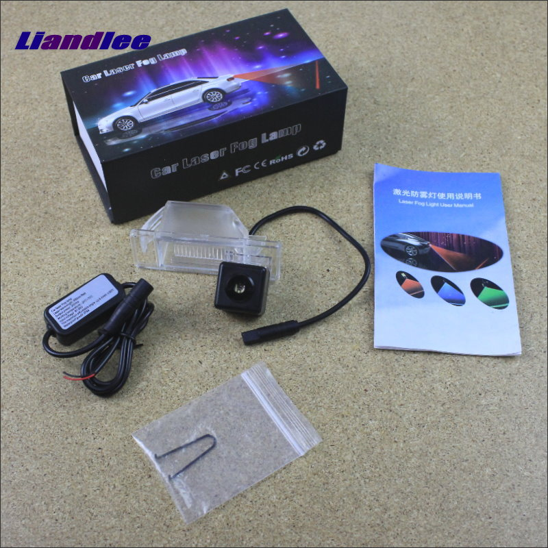 Liandlee Car Tracing Cauda Laser Light For Nissan Juke / Infiniti ESQ Modified Special Anti Fog Lamps Rear Anti-collision Lights speed test counting module for smart tracing car yellow