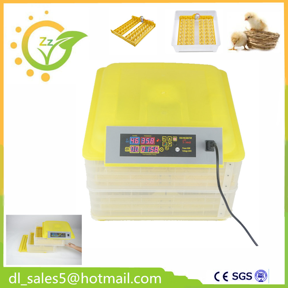 Free ship to EU ! Automatic mini egg incubator cheap egg hatcher equipement for 96 eggs d1406 2sd1406 to 220f