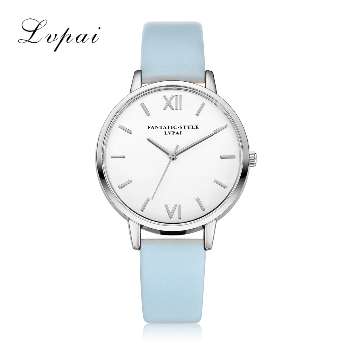 Lvpai Brand Luxury  Silver Hot Selling Casual PU Leather Strap Women Quartz Wristwatch Bracelet Ladies Business Watch Clock футболка детская с вашим текстом путешествие на дачу