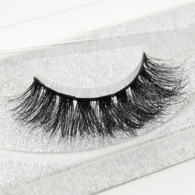 Visofree eyelashes 3D mink eyelashes long lasting mink lashes natural dramatic volume eyelashes extension false eyelashes D08 2