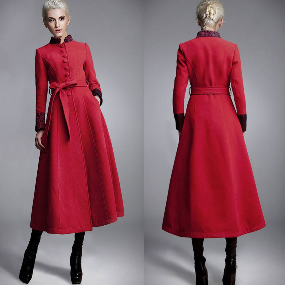 Dress Wool Coat Promotion-Shop for Promotional Dress Wool Coat on
