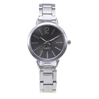Новинка 2019 года нержавеющая сталь ремень для женщин часы женские часы браслет классический минималистский сплав аналоговые дамы кварцевые