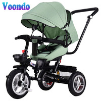 Voondo Baby stroller bicycle multi function tricycle suitable for 6 months 5 years old Russian free shipping