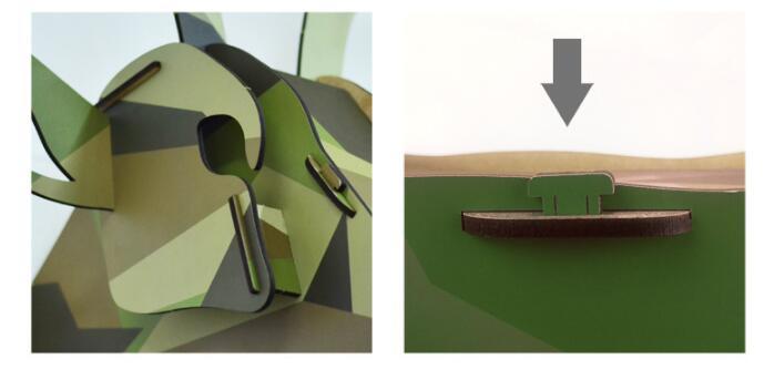 Details tete de cerf - Romaric Design